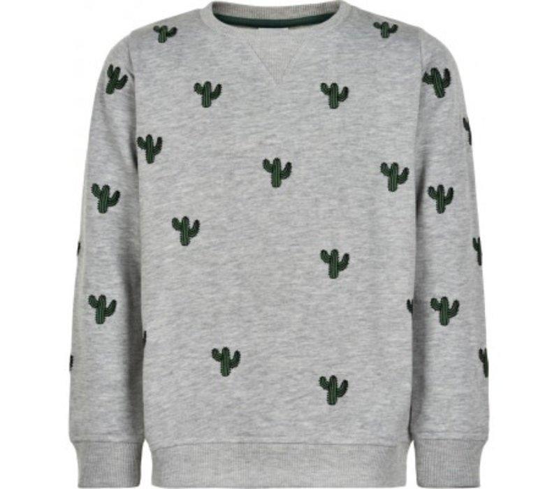 The new - Tyler sweatshirt light grey melange