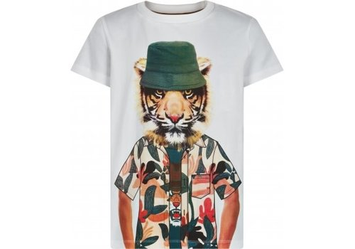 The New The new - Troels shortsleeve tee bright white 9-10 year