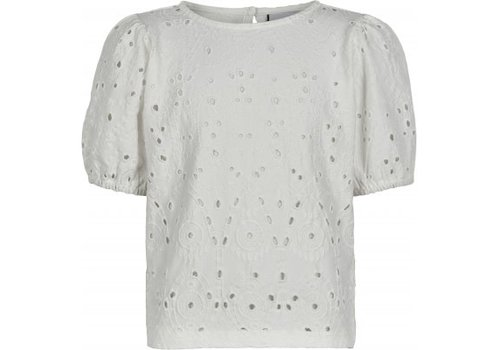 The New The new - Tillie shortsleeve top cloud dancer 11/12 year