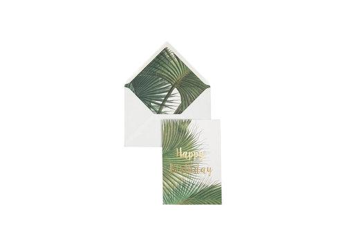 Creative Lab Creative Lab - Happy Birthday - Botanic Palm