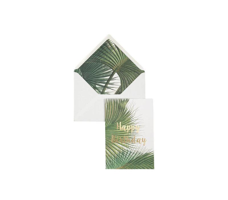 Creative Lab - Happy Birthday - Botanic Palm