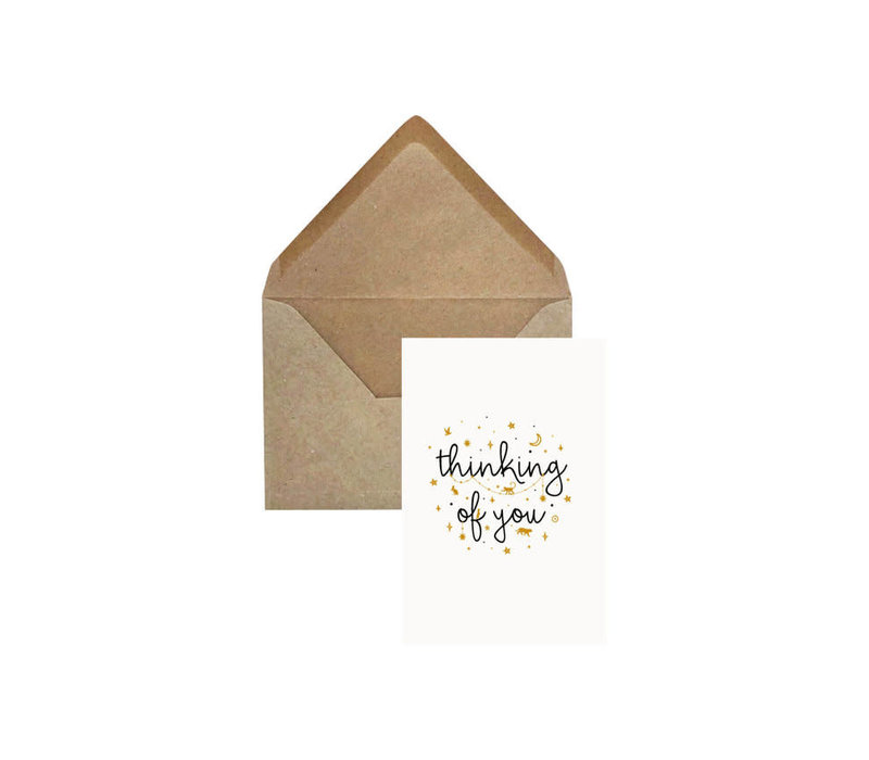 Creative Lab - Thinking of You - Elephant grass card