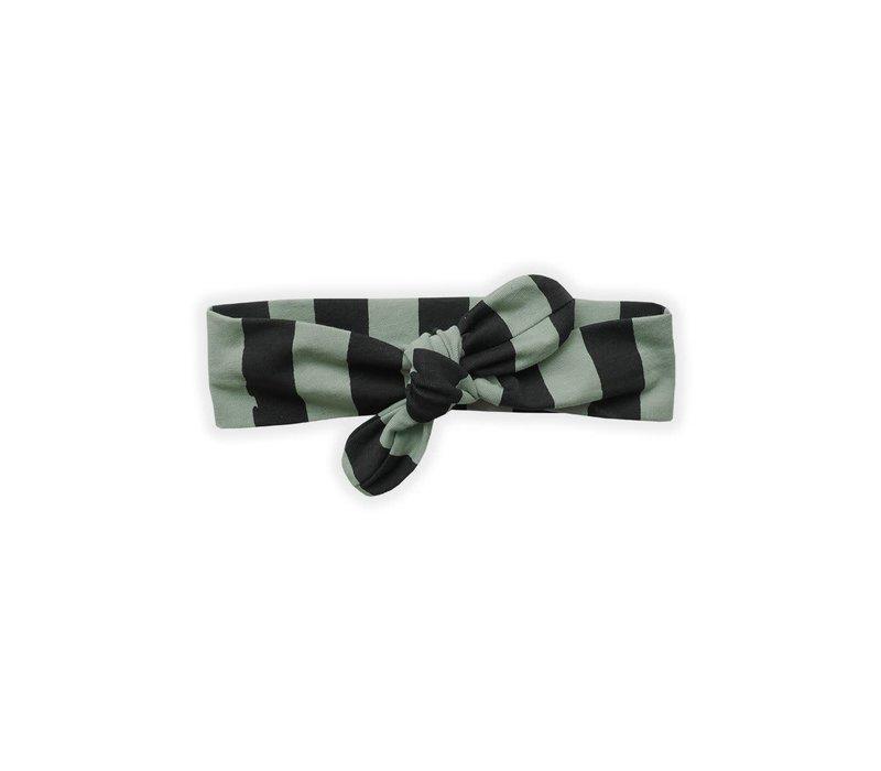 Sproet & Sprout - Headband painted stripe eucalyptus