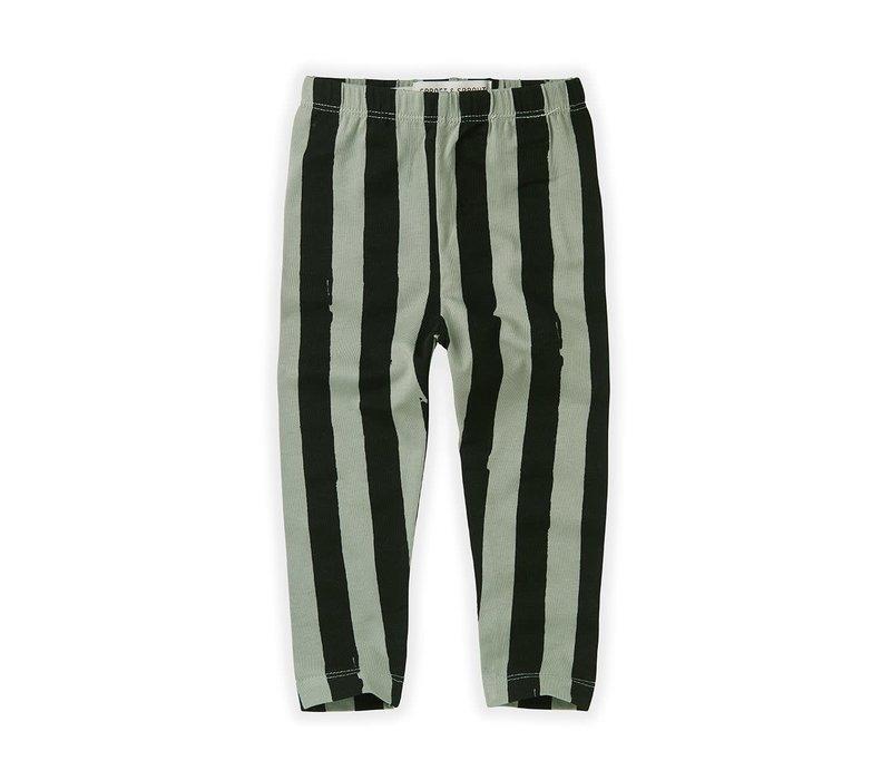 Sproet&Sprout - Legging painted stripe eucalyptus