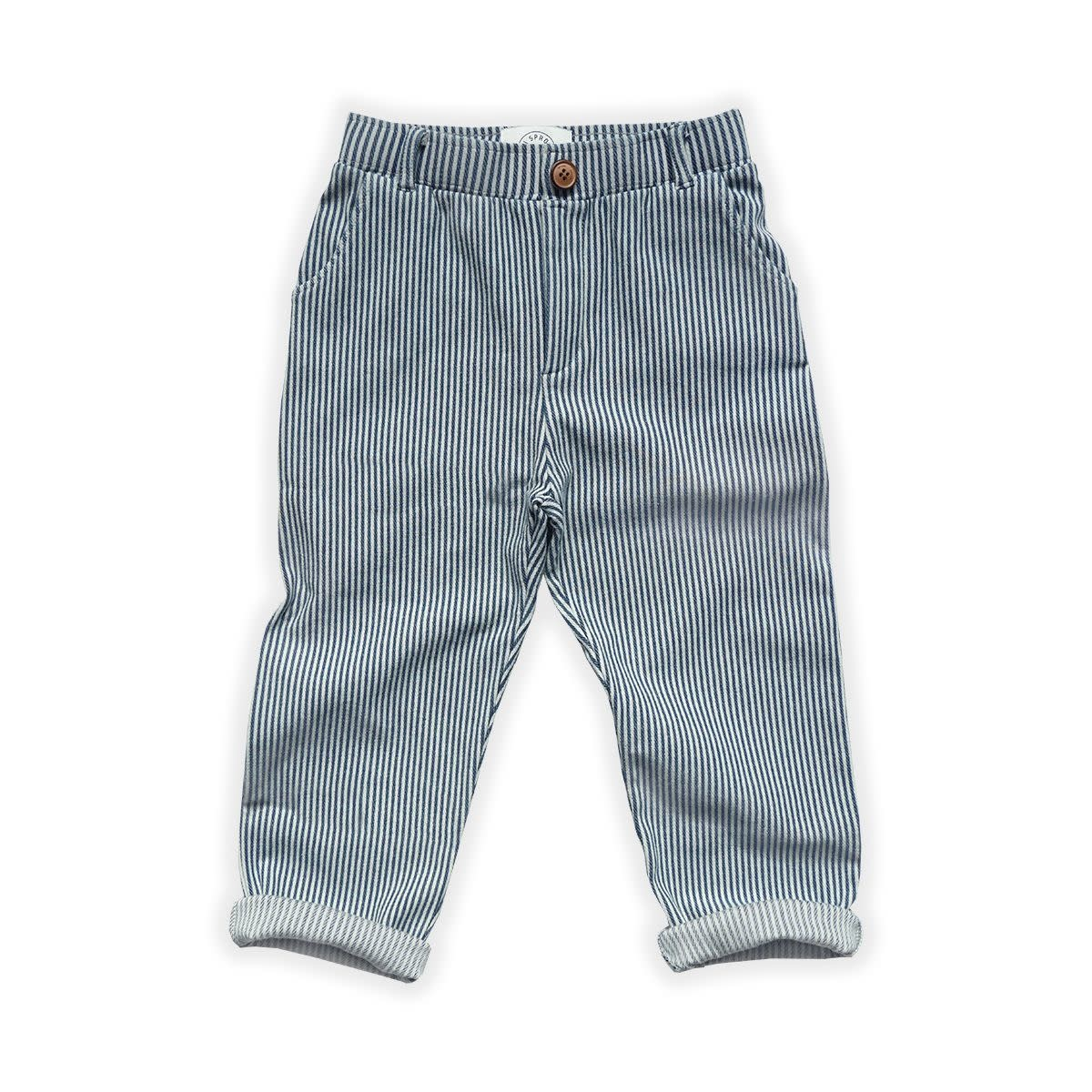 Sproet & Sprout Sproet&Sprout - Chino pants demin stripe