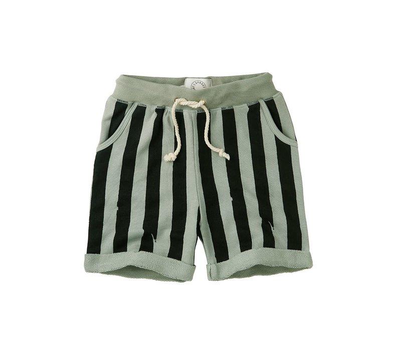Sproet&Sprout - Short painted stripe eucalyptus