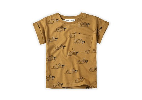 Sproet & Sprout Sproet&Sprout - T-shirt print oasis desert