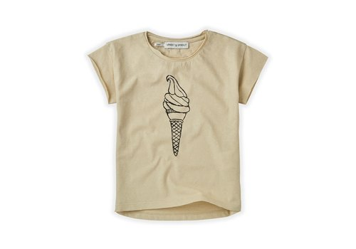 Sproet & Sprout Sproet&Sprout - T-shirt icecream sesam