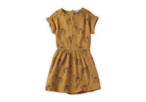 Sproet & Sprout Sproet&Sprout - Dress camel print desert