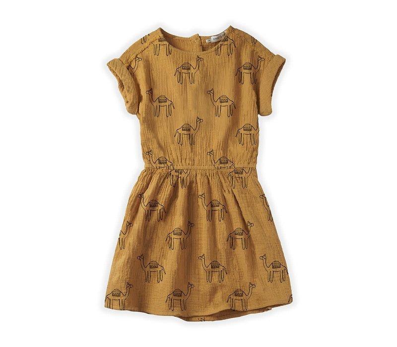 Sproet&Sprout - Dress camel print desert