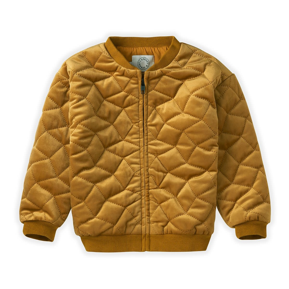 Sproet & Sprout Sproet&Sprout - Quilted jacket desert