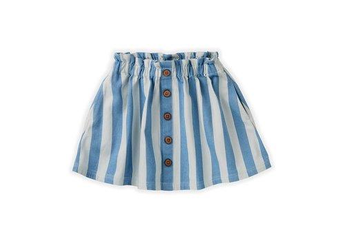 Sproet & Sprout Sproet&Sprout - Skirt denim stripe  - 11/12 year