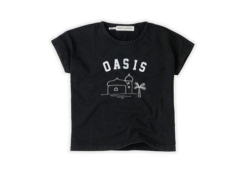 Sproet & Sprout Sproet&Sprout - T-shirt oasis asphalt