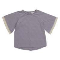 Blossom kids - Tunic short sleeve lavender 128/134