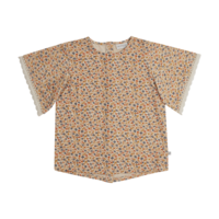 Blossom kids - Tunic short sleeve Aquarel flower - 128/134
