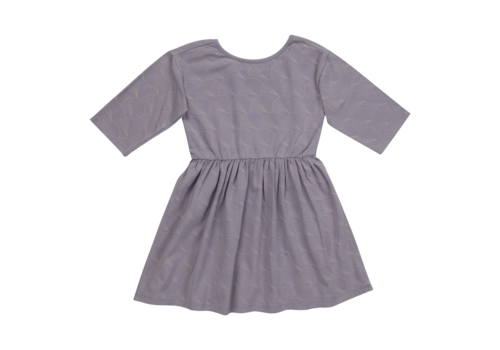 Blossom kids Blossom kids - Dress half sleeve Lavender Grey