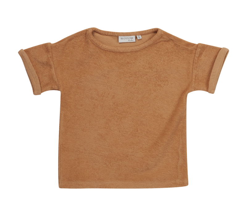 Blossom kids - Terry shirt Honey