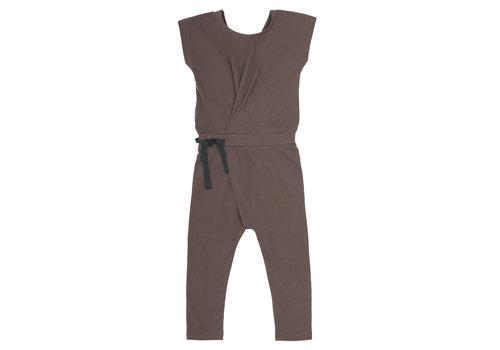 Phil&Phae Phil & Phae - Fold-over jumpsuit heather