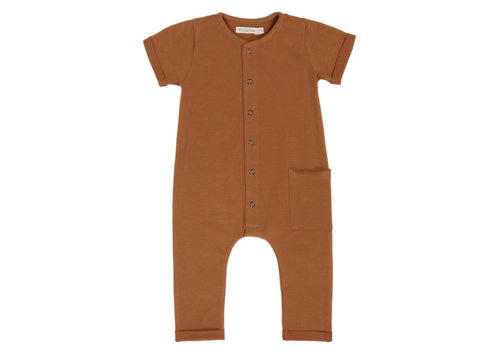 Phil&Phae Phil & Phae - Pocket jumpsuit short sleeve hazel