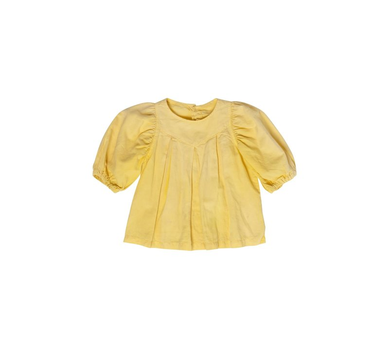 Maed for mini - Casual canary blouse
