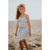 Sproet&Sprout - Skirt denim stripe  - 11/12 year