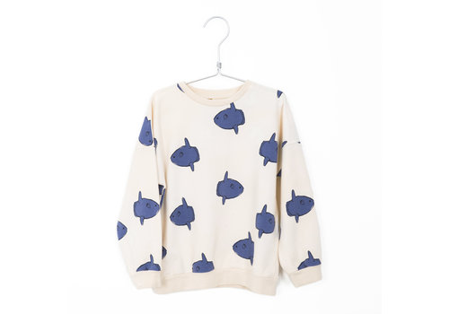 Lotiekids Lötiekids - Sweatshirt moonfish off white