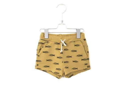 Lotiekids Lötiekids - Shorts fishes sun yelllow