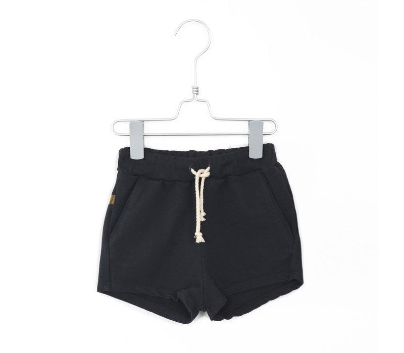 Lötiekids - Shorts solid charchoal - 1/2 year