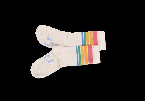 Wander & Wonder Wander & Wonder - Rainbow stripe socks