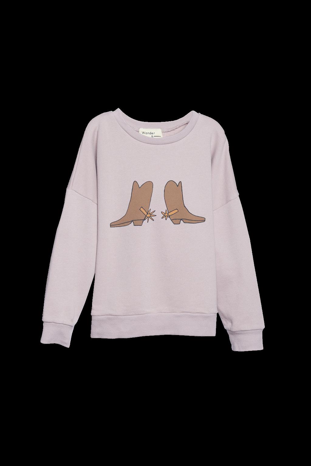 Wander & Wonder Wander & Wonder - Summer sweatshirt mauve