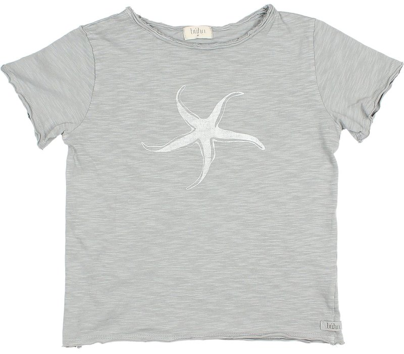 Buho - 9186 Kids starfish t-shirt Cloud - 10 year