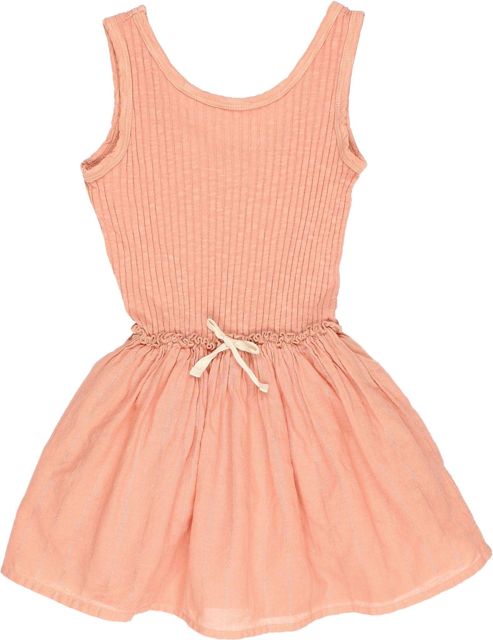 Buho Buho - 9192 Lurex combi dress Siena