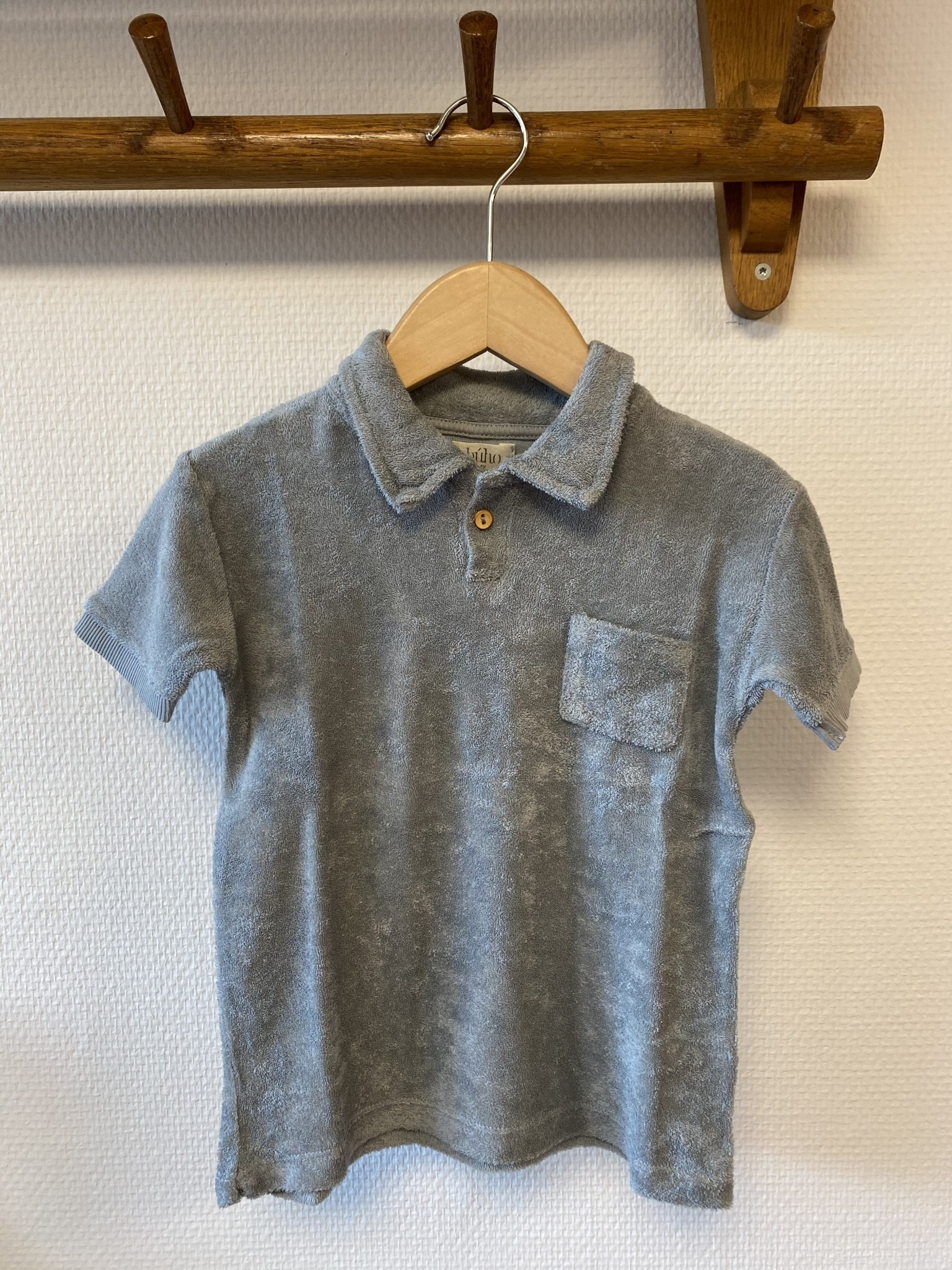 Buho Buho - 9211 Terry polo shirt Cloud