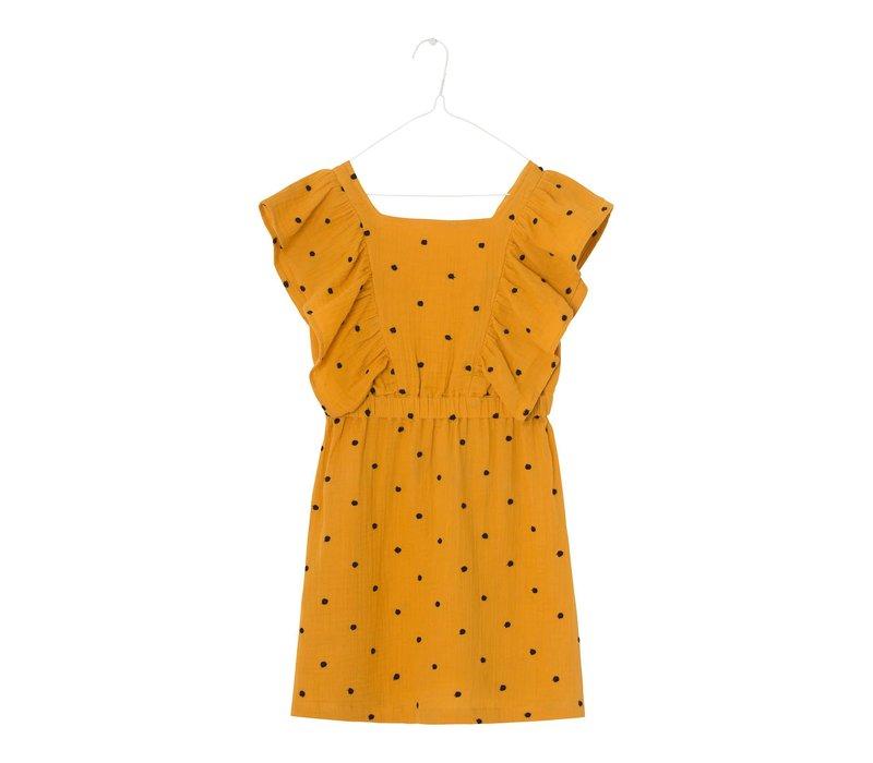A monday - Agatha dress golden yellow