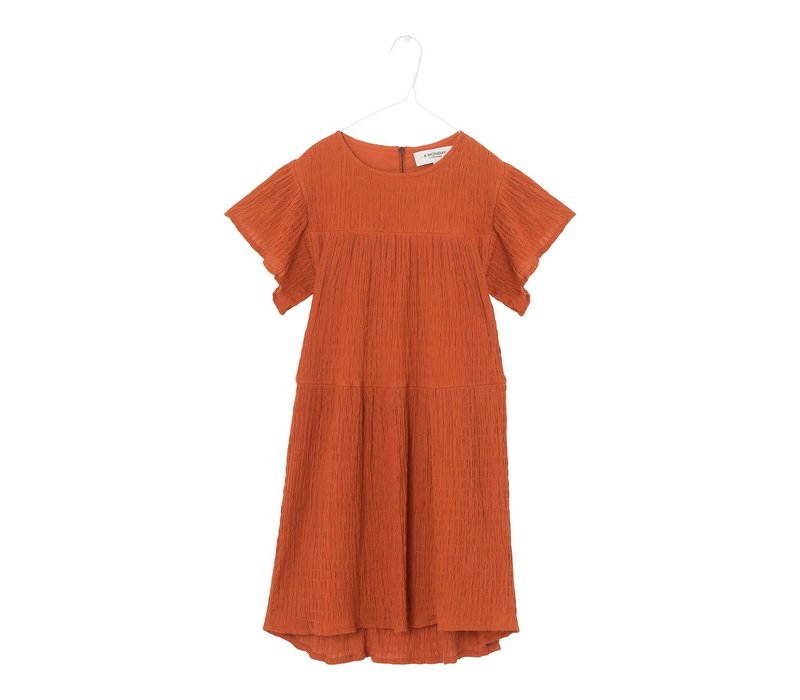 A monday - Lilou dress rust