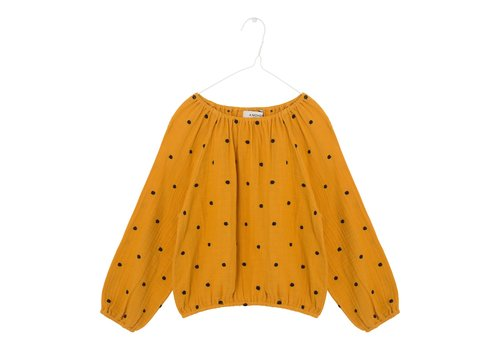 A Monday A monday - Didi blouse golden yellow - 4 year