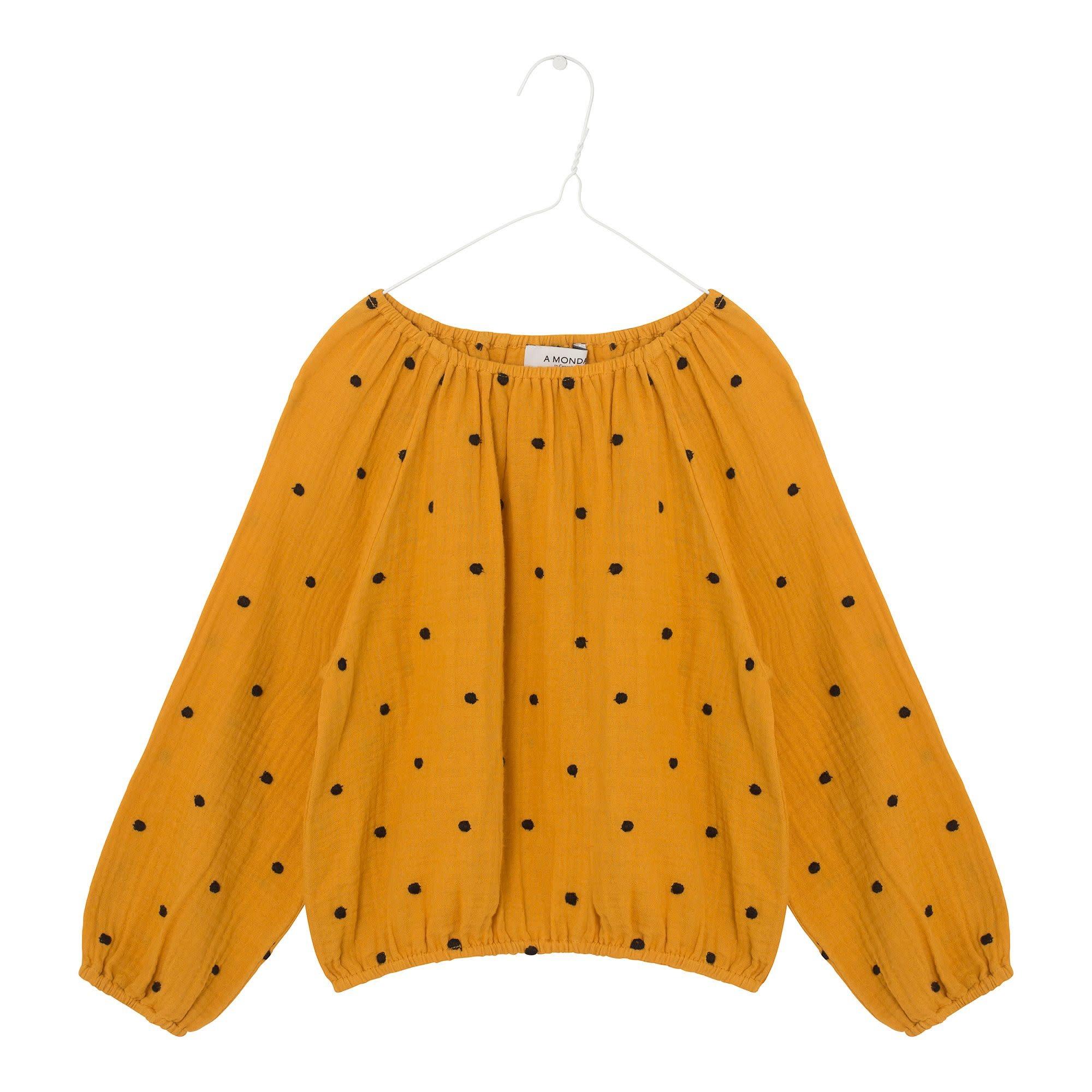 A Monday A monday - Didi blouse golden yellow