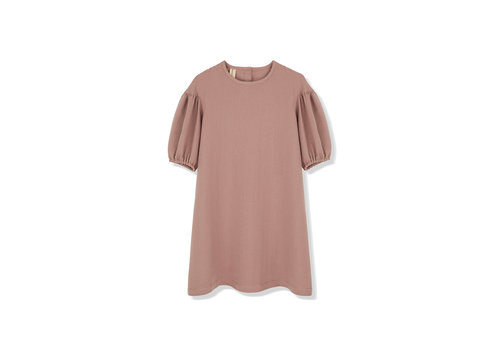 Kids on the moon Kids on the moon - Puff dress mellow rose