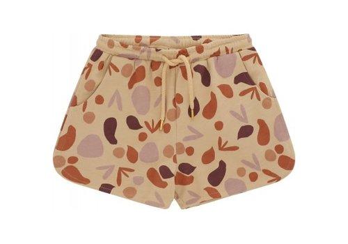 Soft Gallery Soft gallery - Paris shorts beige aop shapes