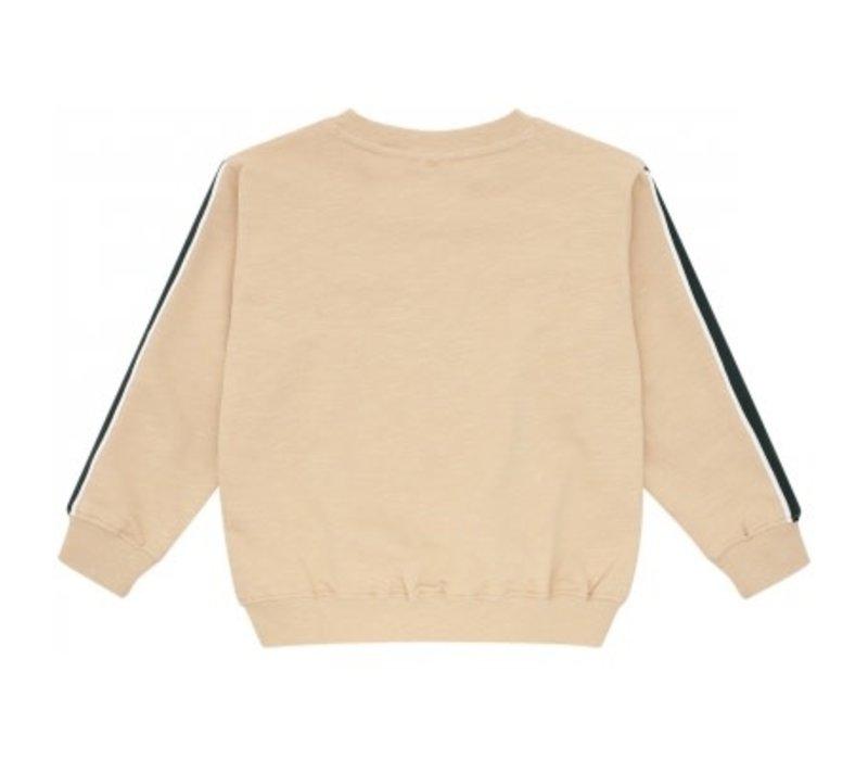 Soft gallery - Baptiste sweatshirt beige crocoskate