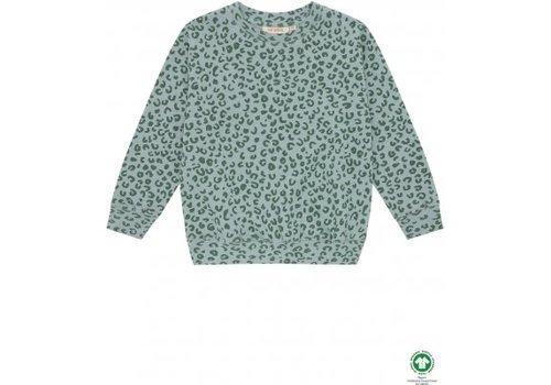 Soft Gallery Soft gallery - Baptiste sweatshirt slate aop leospot - 4 year