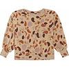 Soft Gallery Soft gallery - Elvira sweatshirt beige aop shapes