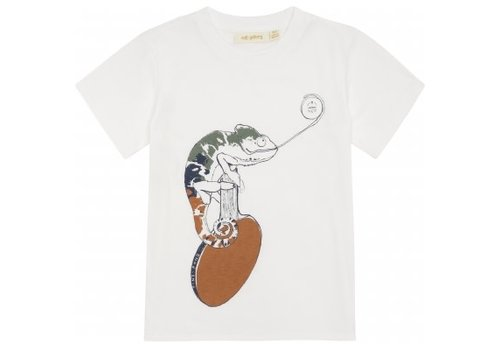 Soft Gallery Soft gallery - Norman t-shirt snow white chameleon - 4 year