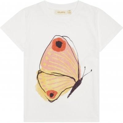 Soft Gallery Soft gallery -  Bass t-shirt show white brimstone