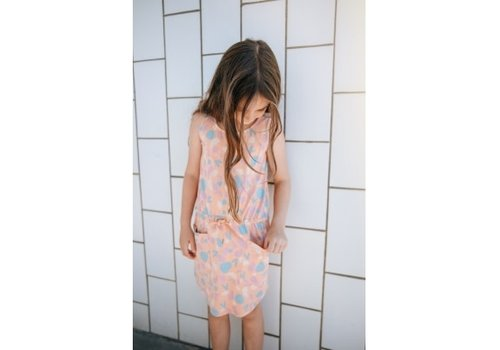 Soft Gallery Soft gallery - Hazel dress sandstone aop