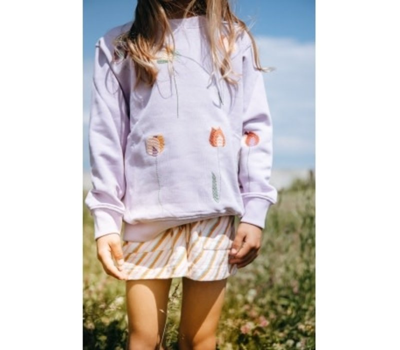 Soft gallery - Baptiste sweatshirt lavender frost