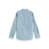 Scotch - Chambrey shirt with pocket 0727, 160078