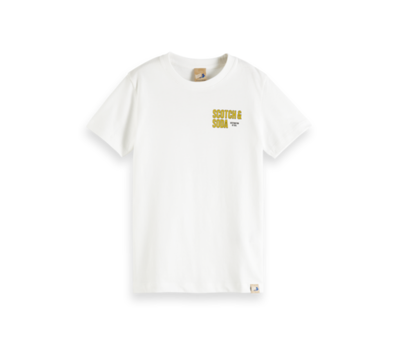 Scotch - Short sleeve tee with artwork 0001, 161105