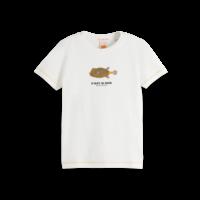 Scotch  - Short sleeve tee with artwork 0006, 161301