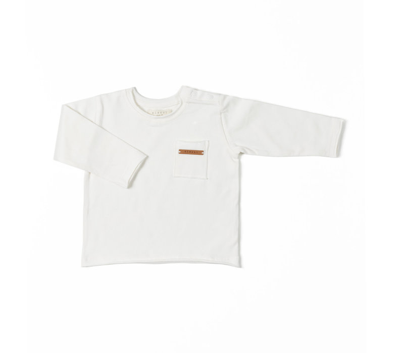 Nixnut -  Longsleeve off white